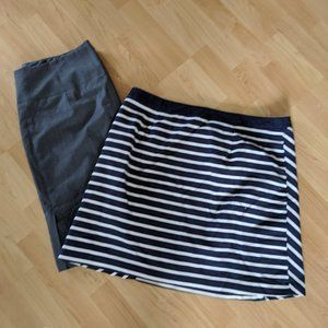 The Limited Pencil skirts, size